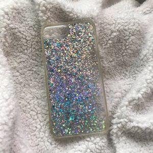 Accessories - iPhone 8/7 plus glitter phone case